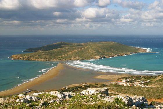Природа острова Родос живописна и многообразна