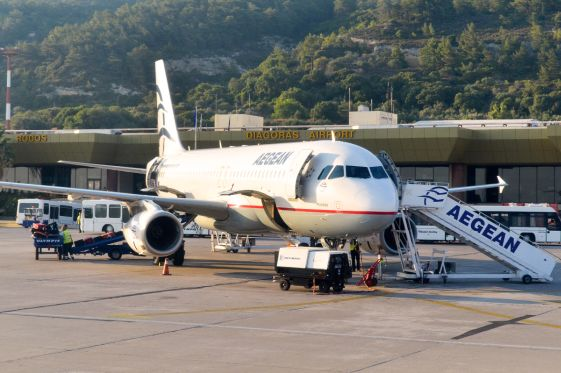 Крупнейшая греческая авиакомпания ''Aegean Airlines'' заслужила себе хорошую репутацию