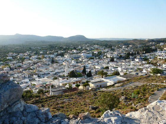 Архангелос - один из немногих уголков в Греции, где еще сохранился местный традиционный образ жизни