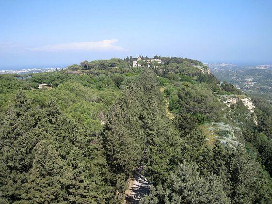 Холм Филеримос - притягательное место для туристов
