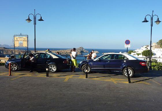 Куда бы Вы не собрались на Родосе - такси всегда под рукой!