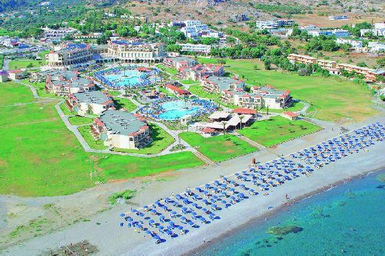 Отель ''Lindos Princess'' может похвастаться огромной территорией