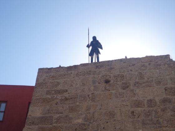 Орден госпитальеров оставил большое наследие на острове Родос
