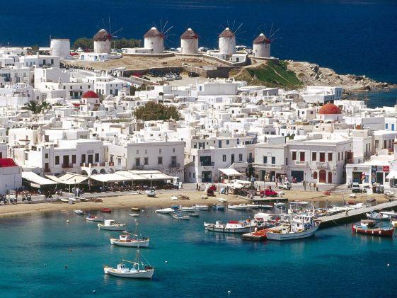 Остров Миконос - не только отличных отдых, но и прекрасный шоппинг!