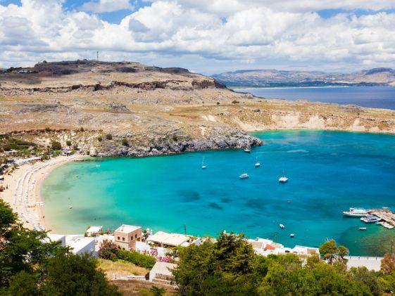 Львиная часть развлечений на острове Родос связана с пляжами и морем