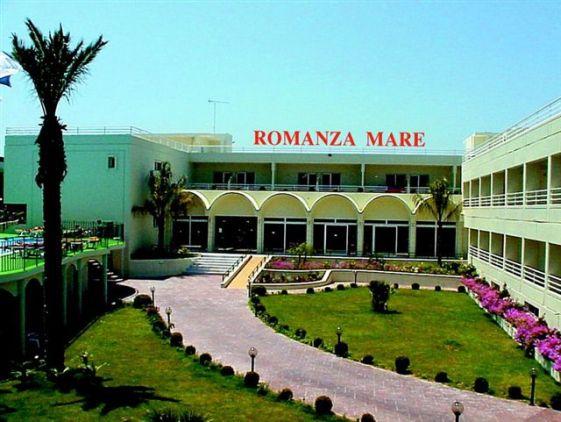 Входная зона отеля ''Romanza Mare 3*''