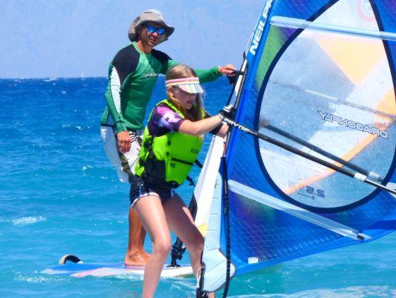 Серфинг центр Windsurfer's World на Родосе