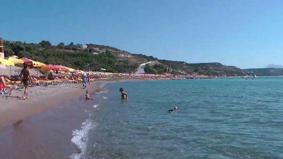 Пляж Парадайз на Косе
