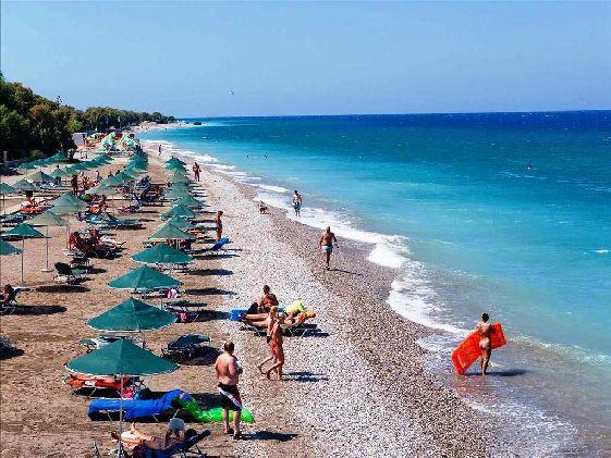 На Родосе есть пляжи на любой вкус